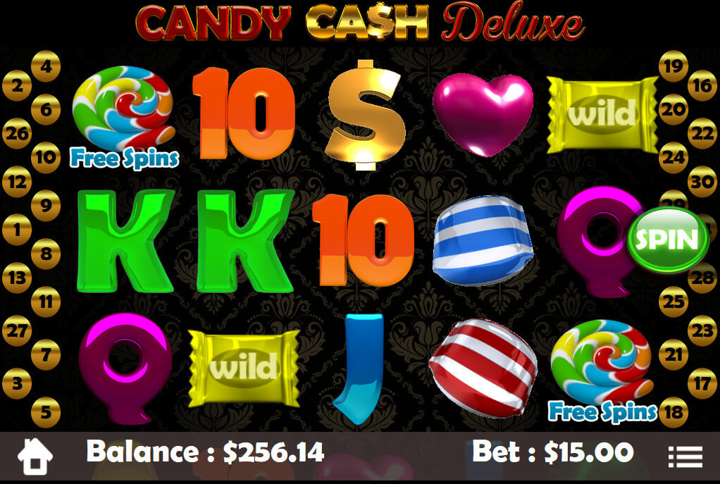 Candy Cash Deluxe Slots - Play Mobilots Games for Fun Online